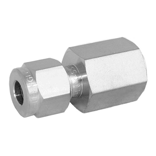 Stainless Steel Female Connector Compression Fitting