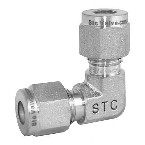 Stainless Steel Elbow Union Compression Tube Fitting