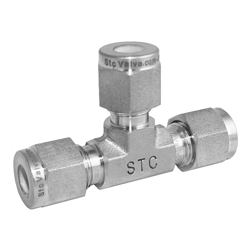 Stainless Steel Tee Union Compression Tube Fitting