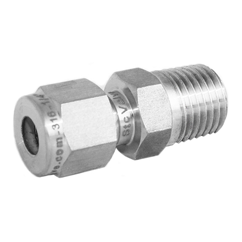 Stainless Steel Male Compression Tube Fitting