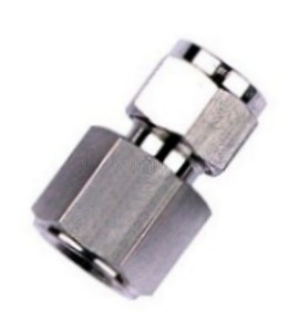 Stainless Steel Female Compression Tube Fitting